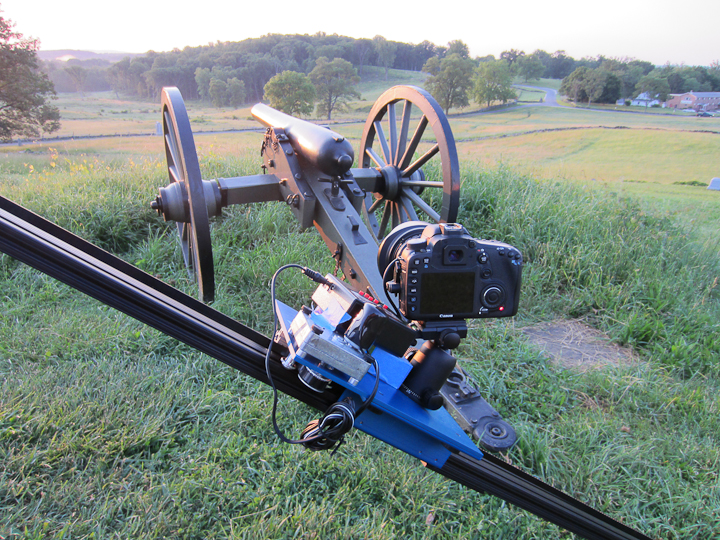 Canon 7D on Dynamic Perception Time-lapse Dolly